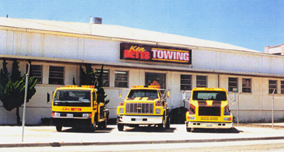 Ken Betts Towing Service - Click Here for a Map